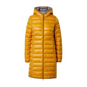 Q/S designed by Přechodný kabát  zlatě žlutá