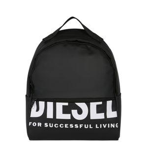 DIESEL Batoh 'F-Bold FL'  černá / bílá