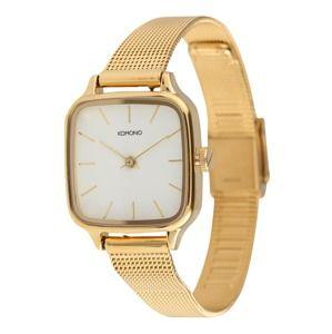 Komono Analogové hodinky 'KATE ROYALE'  zlatá