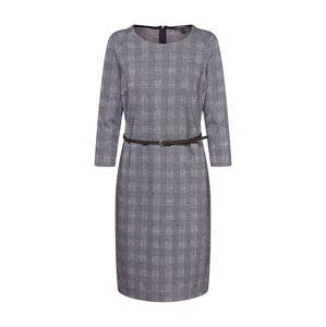 Esprit Collection Pouzdrové šaty  šedobéžová
