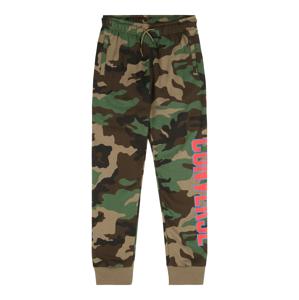 CONVERSE Kalhoty 'COLLEGIATE'  khaki / mix barev