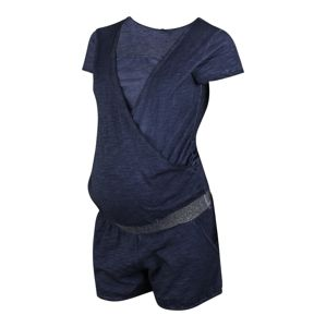 LOVE2WAIT Overal 'Playsuit Nursing Washed'  modrá