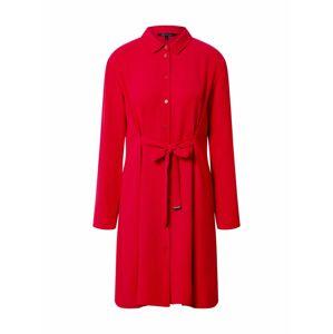 ARMANI EXCHANGE Košilové šaty '6HYA13'  červená