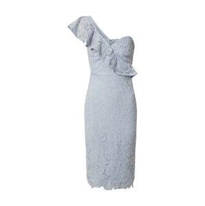 Lipsy Koktejlové šaty 'AC ONE SHOULDER CORNFLOWER LACE'  modrá