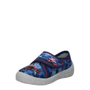 RICHTER Pantofle  modrá / mix barev