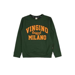 VINGINO Mikina  zelená / oranžová