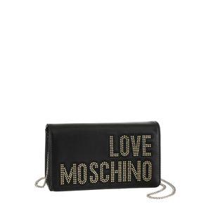 Love Moschino Taška přes rameno  černá / zlatá
