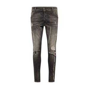 tigha Jeans 'Billy the kid 9941 destroyed'  šedá džínová