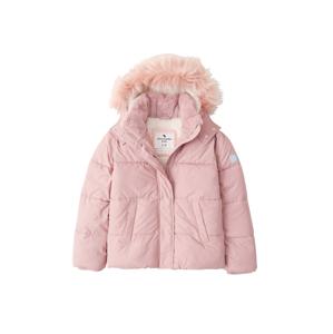 Abercrombie & Fitch Zimní bunda  tmavě růžová