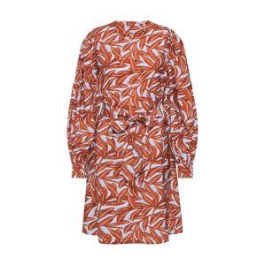 OBJECT Letní šaty  mix barev / hnědá