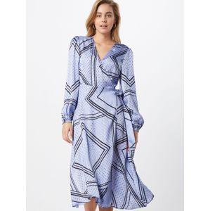 SECOND FEMALE Košilové šaty 'Isa LS'  světlemodrá