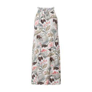 ONLY Letní šaty 'NOVA LIMBO LIFE'  béžová / zelená