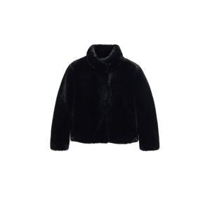 MANGO Přechodná bunda 'campbell'  černá
