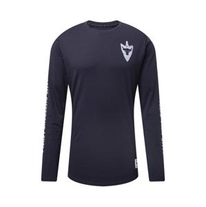 UNDER ARMOUR Funkční tričko 'Project Rock Same Game'  černá / světle šedá