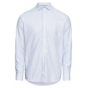 OLYMP Společenská košile 'Level 5 Zündholzst. Twill'  modrá