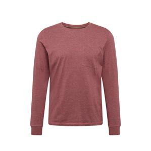 ESPRIT Tričko 'Marl'  vínově červená