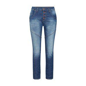 PLEASE Džíny 'trousers'  modrá džínovina