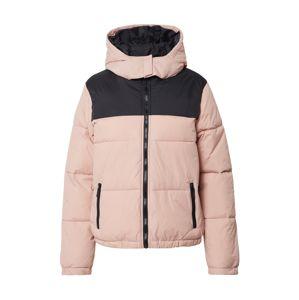 NEW LOOK Zimní bunda 'AVERY'  černá / růžová