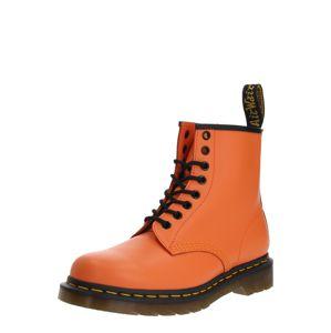 Dr. Martens Šněrovací boty '1460 Smooth'  černá / oranžová