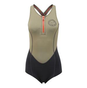 BILLABONG Sportovní plavky 'shorty jane spring'  khaki / černá