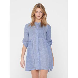 ONLY Košilové šaty 'ONLCHICAGO'  světlemodrá