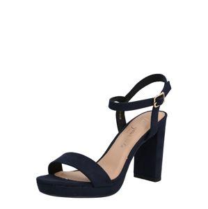 NEW LOOK Sandály 'QUEEN'  modrá