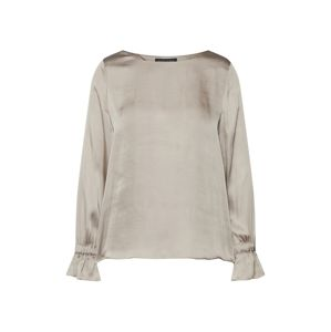 Banana Republic Halenka 'LS RUCHED CUFF TOP SOLIDS'  šedobéžová