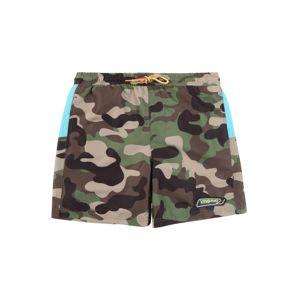 VINGINO Plavecké šortky 'Xaviano'  černá / zelená