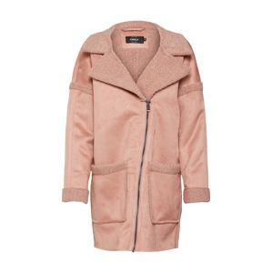 ONLY Zimní kabát  starorůžová