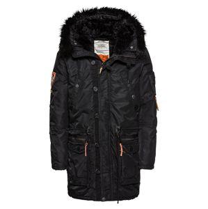 Khujo Zimní kabát 'ROBINSON'  černá