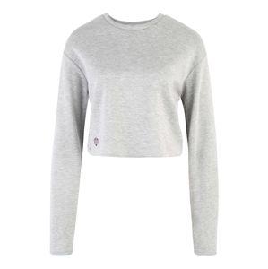 MOROTAI Funkční tričko 'NAKA WB Cropped Longsleeve'  světle šedá