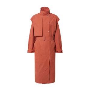EDITED Přechodný kabát 'Vianne'  oranžově červená