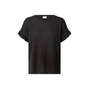 VILA Tričko 'BARIA'  černá
