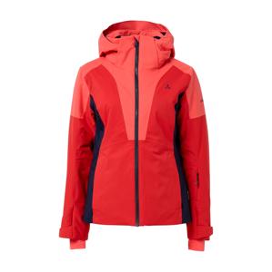 Schöffel Outdoorová bunda  jasně červená / pastelově červená / černá