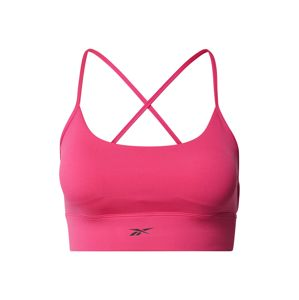 REEBOK Sportovní podprsenka  pink / černá