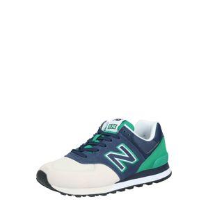 New Balance Tenisky 'ML574UPB'  zelená / šedá / námořnická modř
