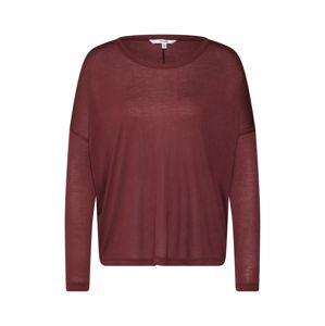 Mbym Oversized tričko  červená