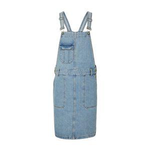 EDC BY ESPRIT Laclová sukně  modrá džínovina