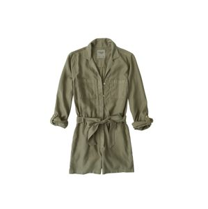 Abercrombie & Fitch Overal 'UTILITY ROMPER'  olivová