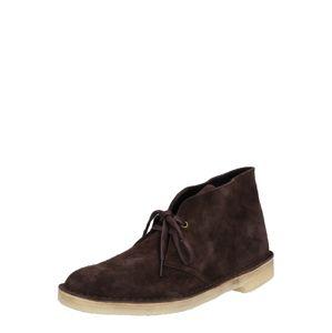 Clarks Originals Kotníkové boty  čokoládová