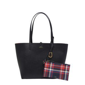 Lauren Ralph Lauren Nákupní taška  námořnická modř / červená / bílá