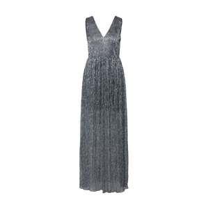 Carolina Cavour Společenské šaty 'Vestido Largo Dorado'  stříbrná