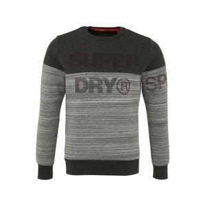 Superdry Sportovní mikina 'GYM TECH CUT'  šedá / tmavě šedá