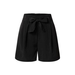 VILA Kalhoty 'VIKASHA HWRX SHORTS'  černá