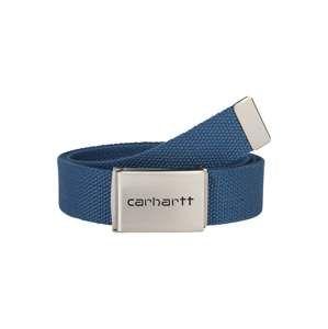 Carhartt WIP Opasek 'Clip Belt Chrome'  modrá