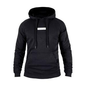MOROTAI Sportovní mikina ' Small Bloc Logo Hoodie '  černá