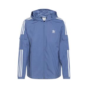 ADIDAS ORIGINALS Přechodná bunda  kouřově modrá / bílá