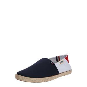 Tommy Jeans Espadrilky  červená / bílá / tmavě modrá