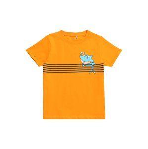 NAME IT Tričko 'NMMVUXI SS TOP J'  mix barev / oranžová
