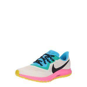 NIKE Běžecká obuv 'AIR ZOOM PEGASUS 36 TRAIL'  béžová / pink / černá